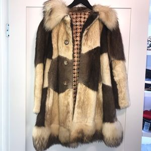 Jackets & Blazers - Authentic Fur Coat